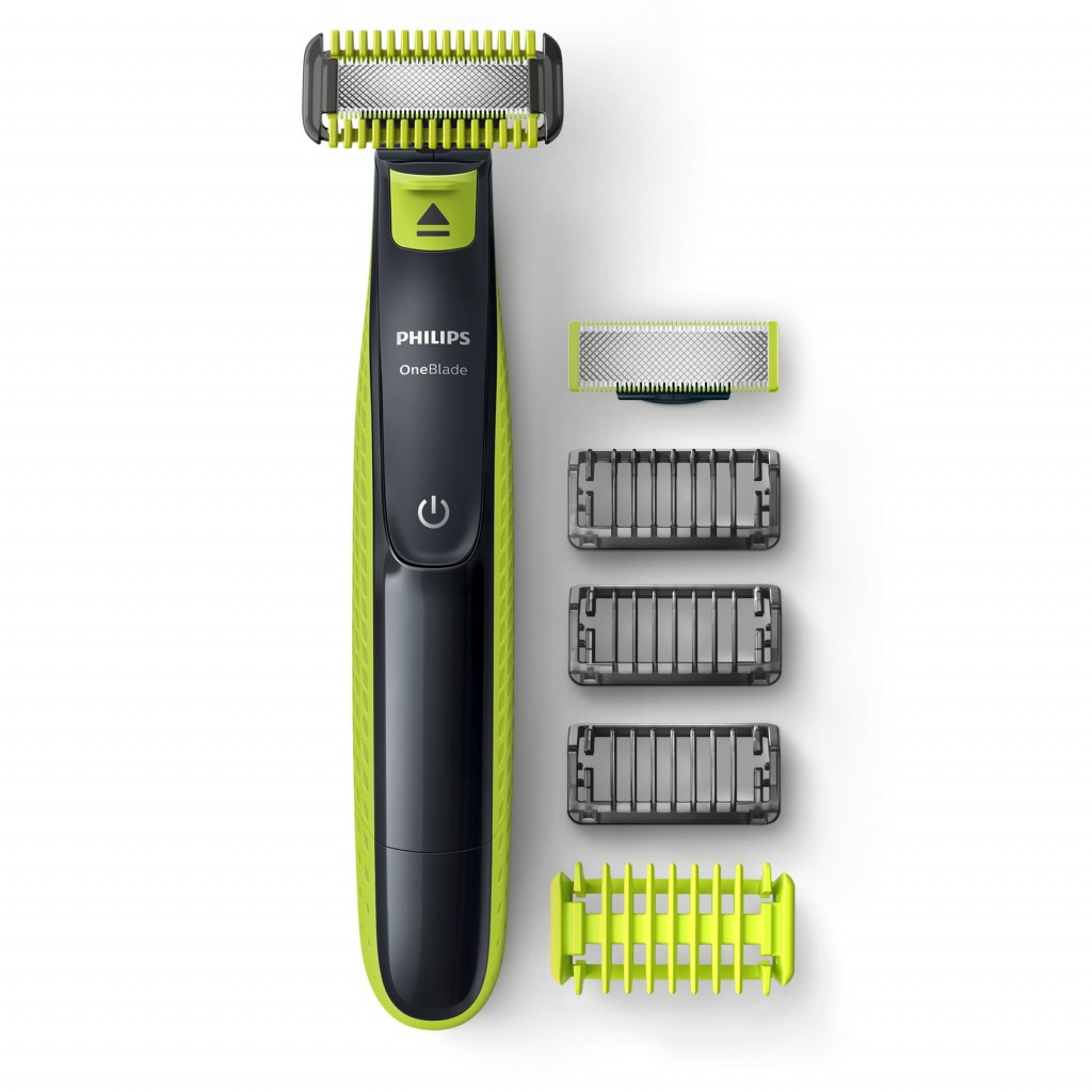 Philips Shaver OneBlade QP2620/20 Cordless, Charging time 8 h, Operating time 45 min, Wet use, NiMH, Number of shaver heads/blades 1, Green/Grey