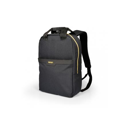 "PORT DESIGNS CANBERRA 135066 Fits up to size 14 "", Black, Backpack"