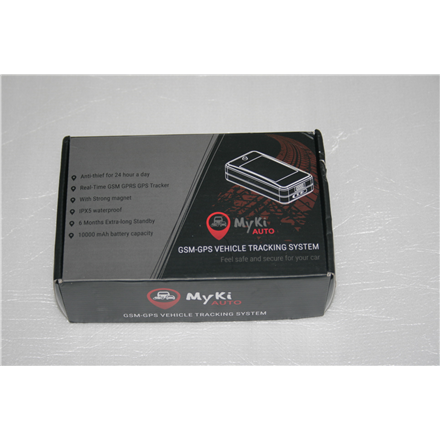 SALE OUT. Myki Auto GSM-GPS Vehicle Tracking System, Black Allterco DAMAGED PACKAGING, DEMO