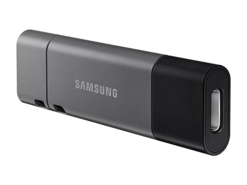 Samsung MUF-256DB USB-välkmälu 256 GB USB Type-A / USB Type-C 3.2 Gen 1 (3.1 Gen 1) Must, Hõbe