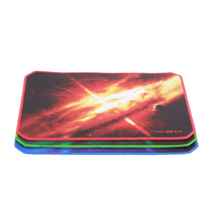 Gembird Gaming mouse pad with anti-fraying edges ACT-MPG-M 250 x 350 mm, Black