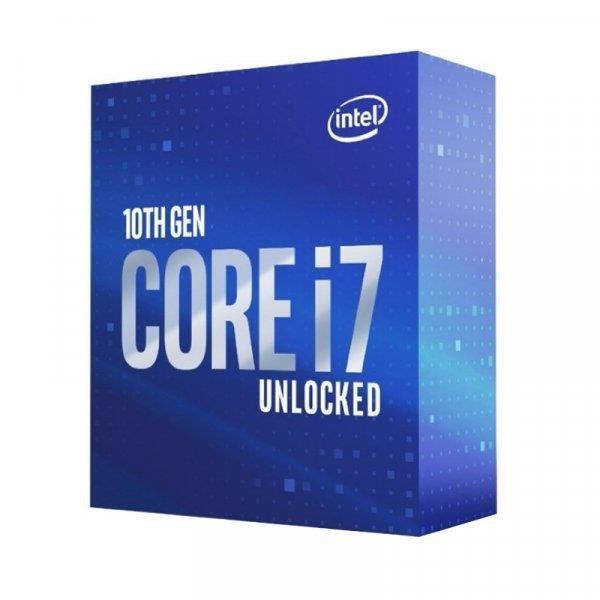 CPU|INTEL|Core i7|i7-10700KF|Comet Lake|3800 MHz|Cores 8|16MB|Socket LGA1200|125 Watts|BOX|BX8070110700KFSRH74