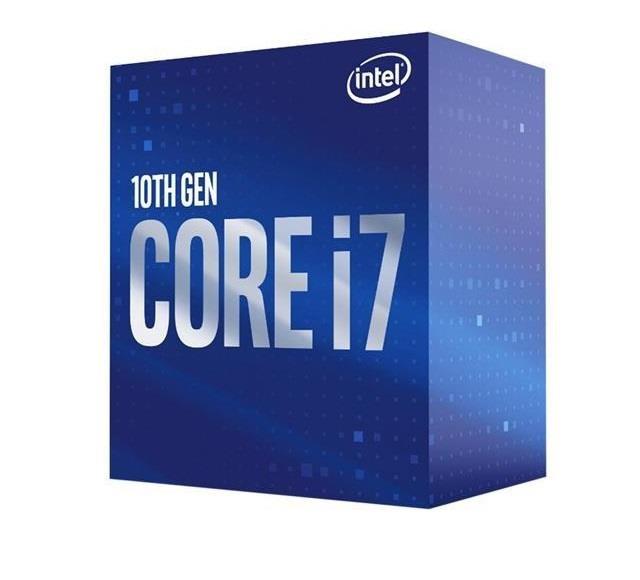CPU|INTEL|Core i7|i7-10700|Comet Lake|2900 MHz|Cores 8|16MB|Socket LGA1200|65 Watts|GPU UHD 630|BOX|BX8070110700SRH6Y