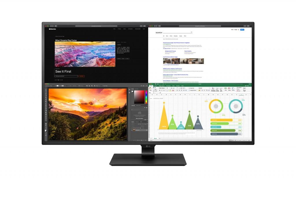 """LG 43UN700-B LED display 108 cm (42.5"""") 3840 x 2160 pikslit Must"""