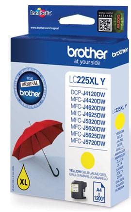 Brother LC-225XLY tindikassett 1 tk Originaal Kollane