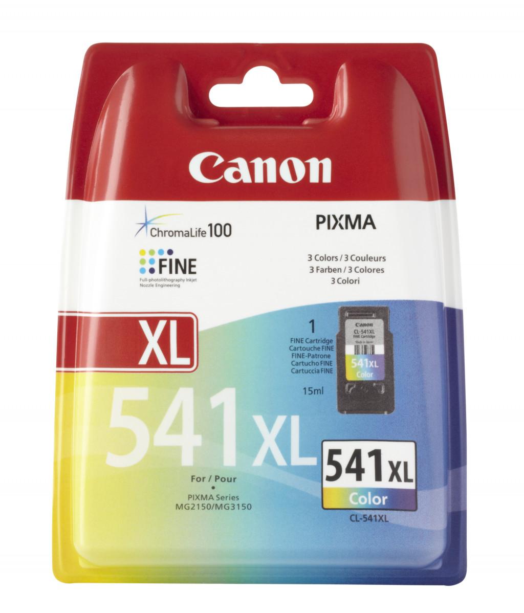 Canon CL-541 XL tindikassett Originaal Tsüaan, Magenta, Kollane