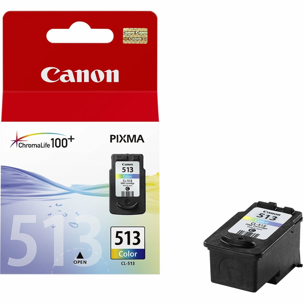 Canon CL-513 ink cartridge, tricolor
