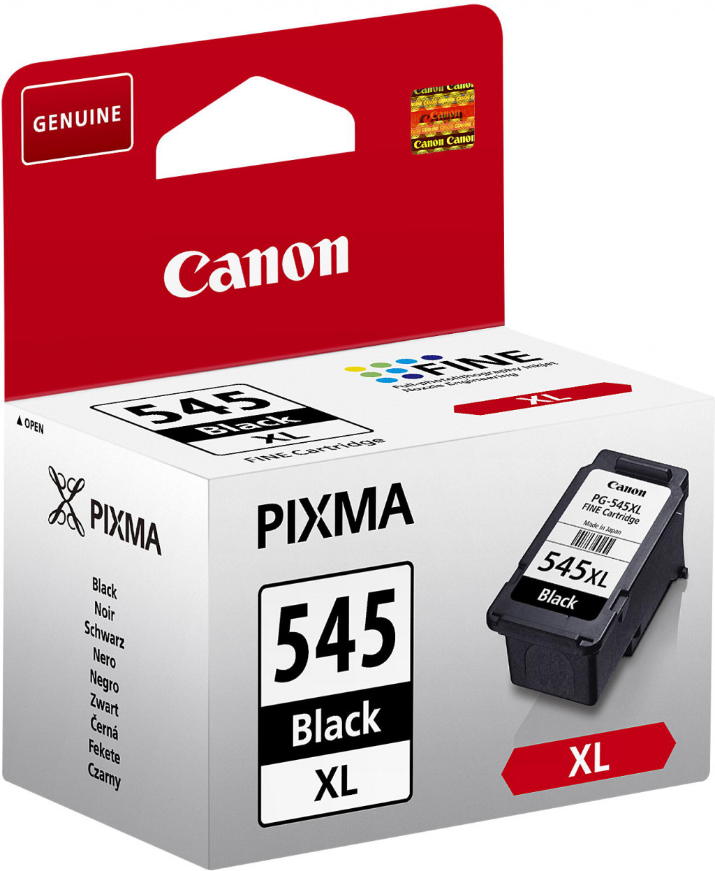 Canon PG-545XL tindikassett 1 tk Originaal Must