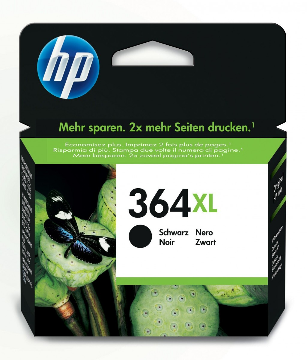 HP CN684EE ink cartridge No. 364XL, black, high capacity
