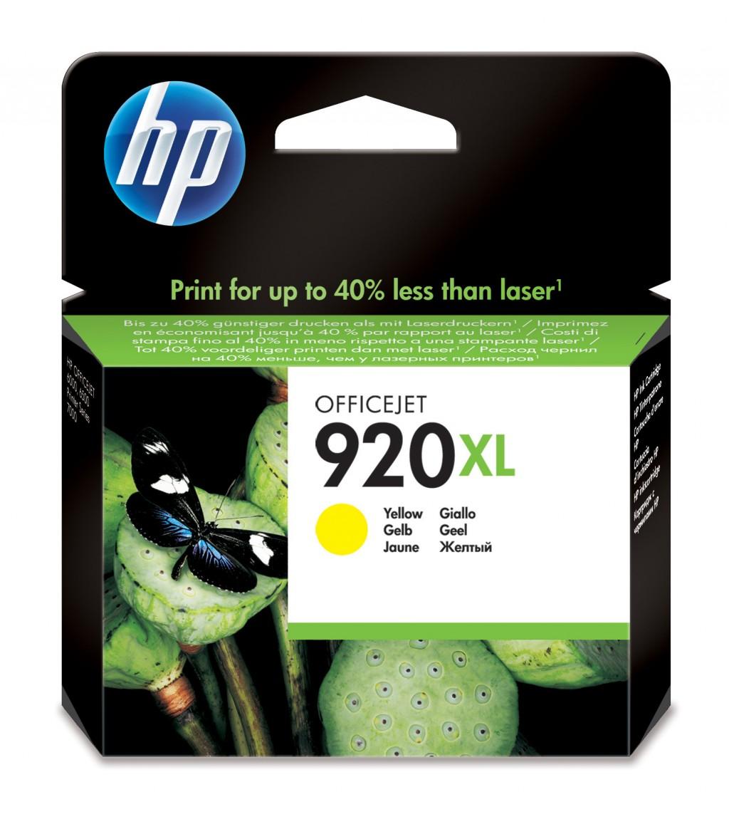 HP CD974AE ink cartridge No. 920XL, yellow, high capacity