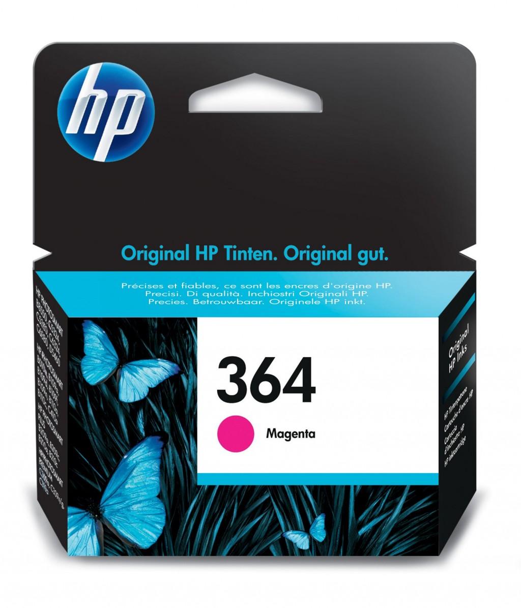 HP CB319EE ink cartridge No. 364, magenta
