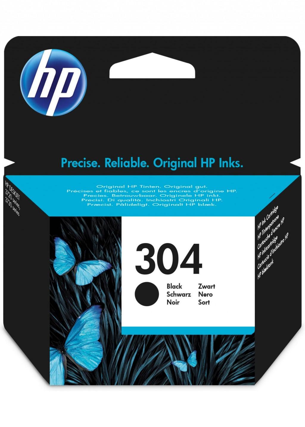 HP N9K06AE ink cartridge No. 304, black