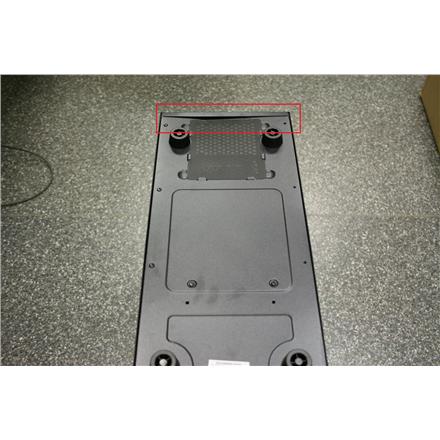 Deepcool USB 3.0 x1; USB 2.0 x 1 , Spk x 1 , Audio x 1,   Black, REFURBISHED WITHOUT ORIGINAL PACKAGING BENT BACK SIDE CORNER