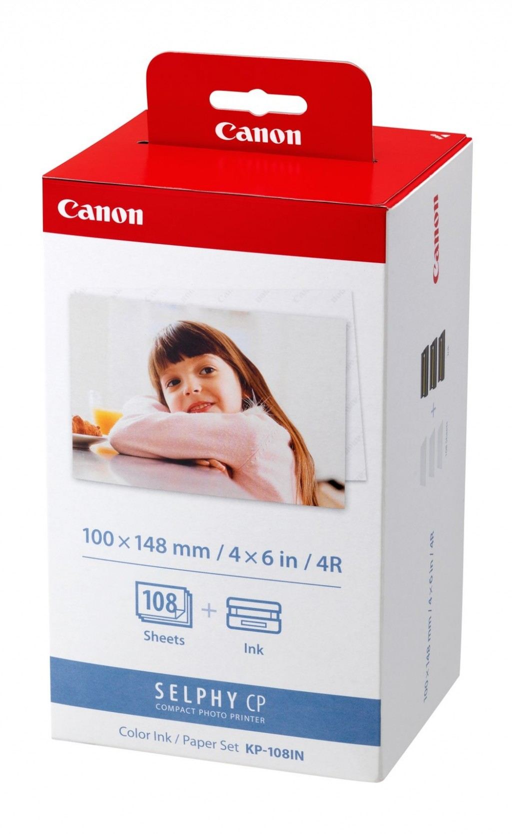 Canon KP-108IN fotopaber Punane, Valge