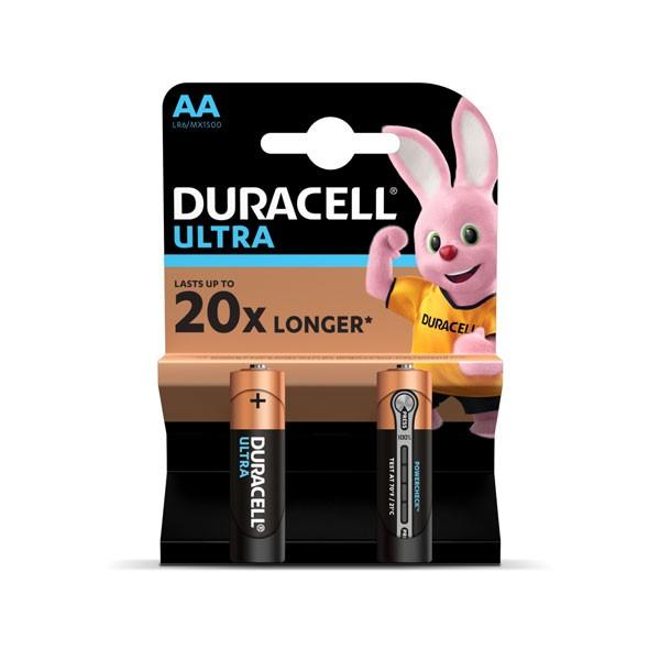 Patarei Duracell Ultra AA, 2tk
