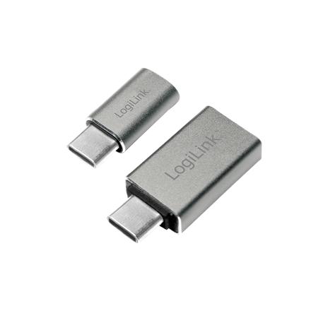 Logilink USB-C to USB3.0 and Micro USB Adapter USB 3.0, Micro USB 2.0, USB 3.1 type-C