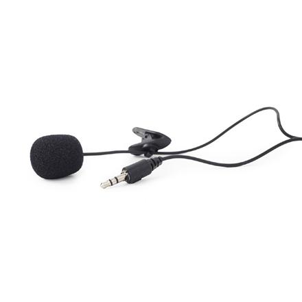 Gembird Clip-on microphone MIC-C-01 Black