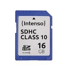 MEMORY SDHC 16GB C10/3411470 INTENSO