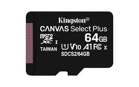 MEMORY MICRO SDXC 64GB UHS-I/SDCS2/64GBSP KINGSTON