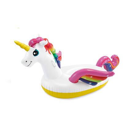 Intex Enchanted Unicorn Ride-On Pool Float 57561NP White