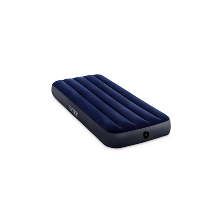 Intex Jr. twin dura-beam series classic downy airbed 64756 Blue