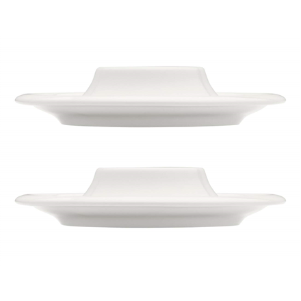 IITTALA Raami Egg Cups, Porcelain, 2 pcs, White