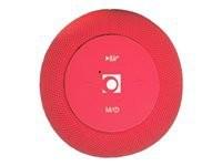 GEMBIRD Portable Bluetooth speaker red