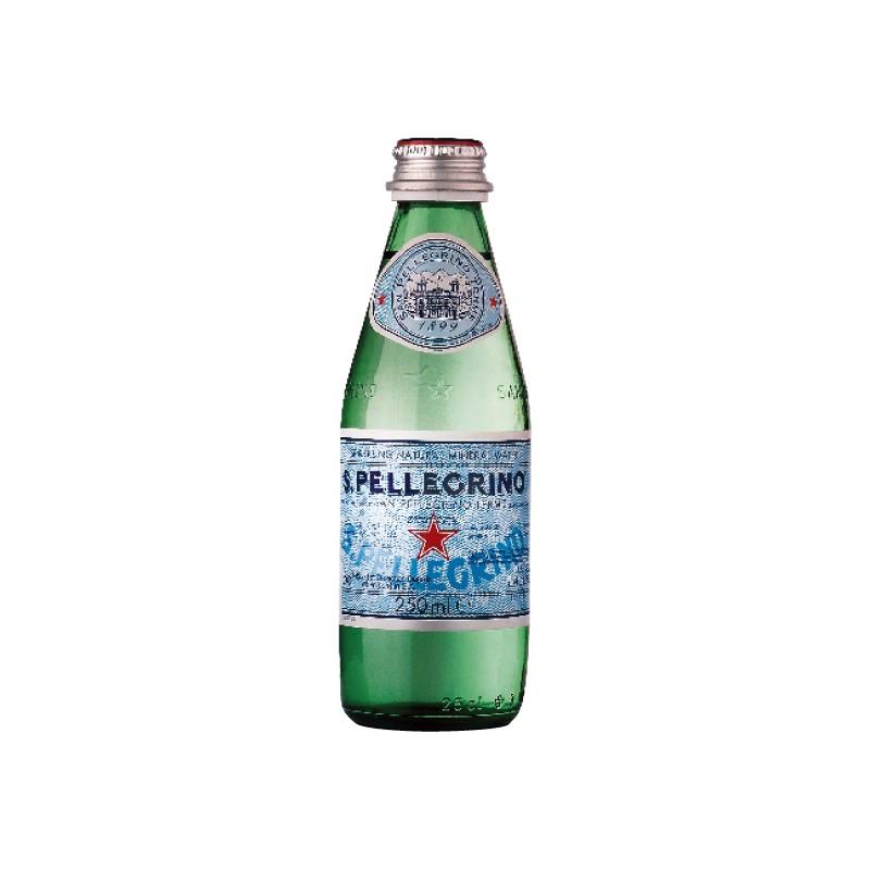Mineraalvesi S.Pellegrino 0.25 L gaseeritud, klaaspudel