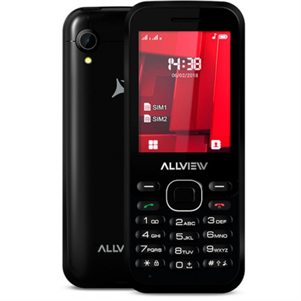 "Allview M8 Stark Black, 2.4 "", TFT, 240 x 320 pixels, Dual SIM, Bluetooth, 2.0, Built-in camera, Main camera 0.3 MP, 1000 mAh"