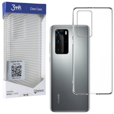 3MK ClearCase Huawei, P40 Pro, TPU, Transparent, Clear phone case