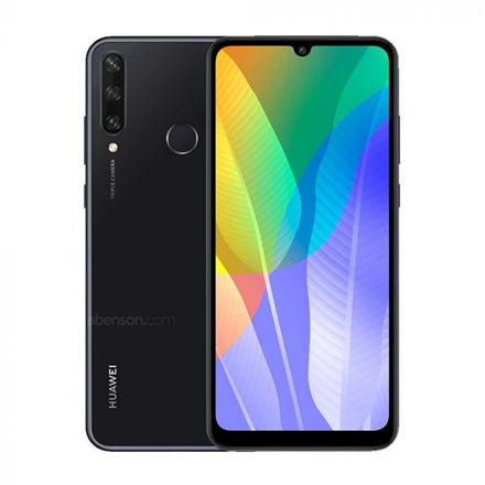 "Huawei Y6P Black, 6.3 "", IPS LCD, 720 x 1600 pixels, Mediatek MT6762R, Helio P22, Internal RAM 3 GB, 64 GB, microSDXC, Dual SIM, Nano-SIM, 3G, 4G, Main camera 13+5+2 MP, Secondary camera 8 MP, Android, 10, 5000 mAh"