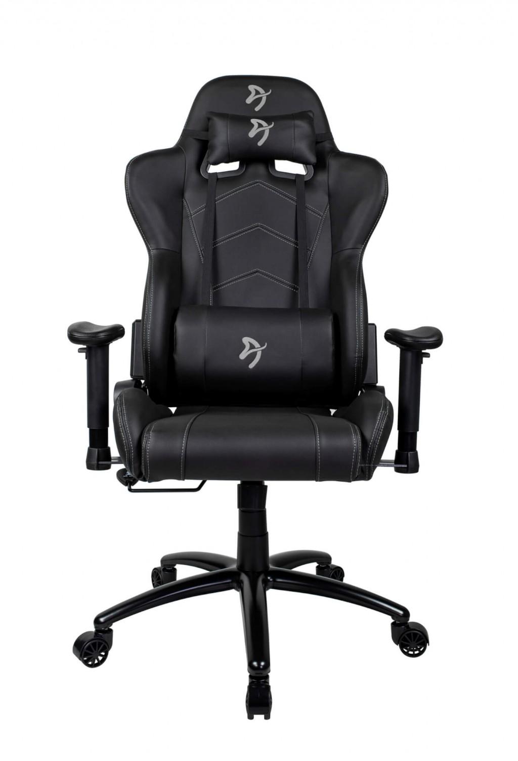 Arozzi Gaming Chair Inizio Black/Grey logo