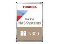 TOSHIBA N300 NAS Hard Drive 6TB 256MB