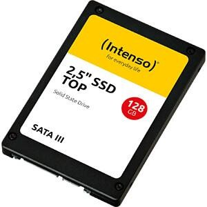 SSD|INTENSO|128GB|SATA 3.0|SLC|Write speed 500 MBytes/sec|Read speed 520 MBytes/sec|2,5"