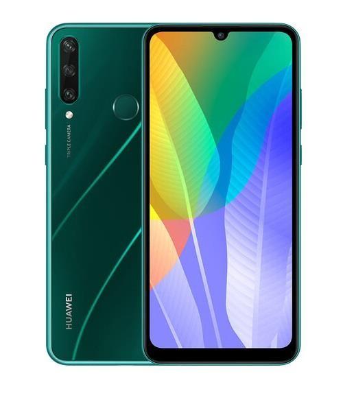 """Huawei Y6p 16 cm (6.3"""") 3 GB 64 GB Kaksik-SIM 4G Mikro-USB Roheline Android 10.0 Huawei Mobile Services (HMS) 5000 mAh"""
