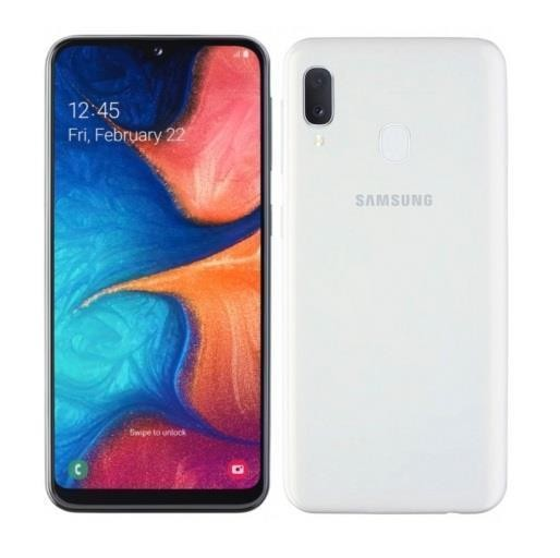 "Samsung Galaxy A20e SM-A202F 14,7 cm (5.8"") Kaksik-SIM 4G USB tüüp-C 3 GB 32 GB 3000 mAh Valge"