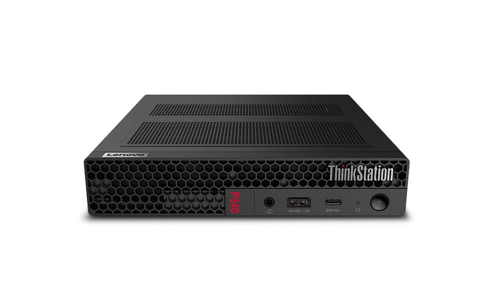 Lenovo ThinkStation P340 Tiny i7-10700T mini PC 10th gen Intel® Core™ i7 16 GB DDR4-SDRAM 512 GB SSD Windows 10 Pro Tööjaam Must