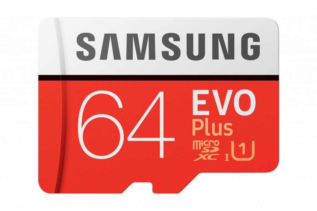 Samsung Evo Plus mälukaart 64 GB MicroSDXC UHS-I Klass 10