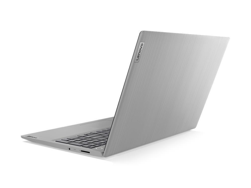 "Notebook|LENOVO|IdeaPad|3 15IIL05|CPU i5-1035G1|1000 MHz|15.6""|1920x1080|RAM 8GB|DDR4|2666 MHz|SSD 512GB|Intel UHD Graphics|Integrated|ENG|Platinum Grey|1.85 kg|81WE005EPB"
