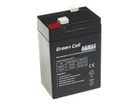 GREEN CELL Battery AGM 6V4.5AH