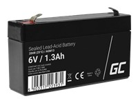 GREEN CELL Battery AGM 6V 1.3 Ah