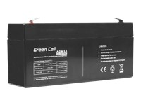 GREEN CELL Battery AGM 6V 3.2 Ah