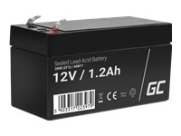 GREEN CELL Battery AGM 12V 1.2 Ah