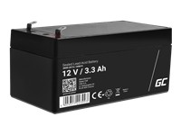 GREEN CELL Battery AGM 12V 3.3 Ah