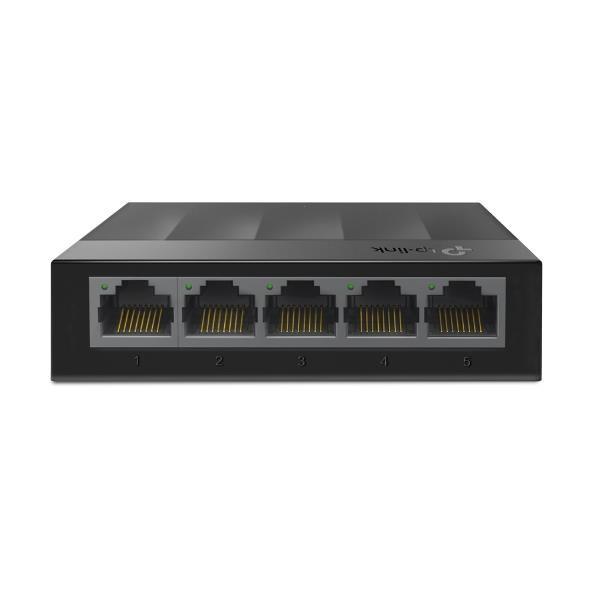 TP-LINK LS1005G võrgulüliti Gigabit Ethernet (10/100/1000) Must