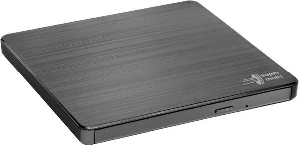 H.L Data Storage Ultra Slim Portable DVD-Writer GP60NB60 Interface USB 2.0, DVD±R/RW, CD read speed 24 x, CD write speed 24 x, Black, Desktop/Notebook