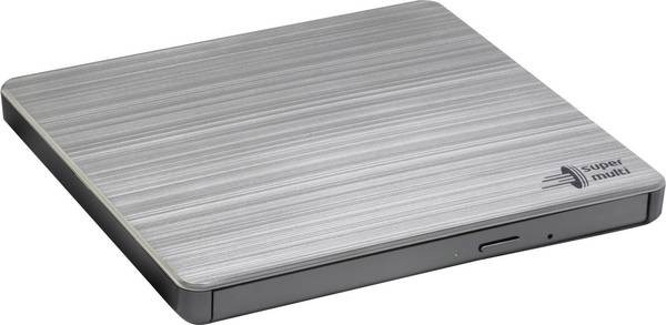 H.L Data Storage Ultra Slim Portable DVD-Writer GP60NS60 Interface USB 2.0, DVD±R/RW, CD read speed 24 x, CD write speed 24 x, Silver, Desktop/Notebook