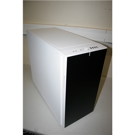 SALE OUT. Fractal Design Define R6 USB-C White Fractal Design Define R6 USB-C White, E-ATX, DAMAGED PACKAGING, Power supply included No