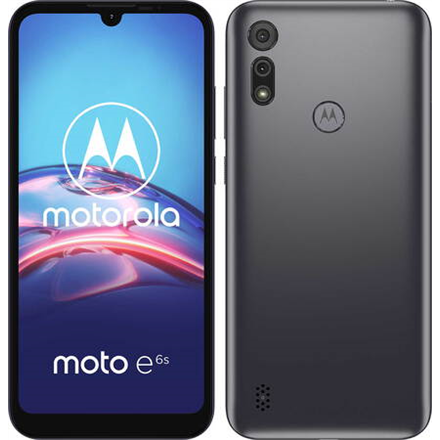 "Motorola Moto E6s Meteor Grey, 6.1 "", IPS LCD, 720 x 1560 pixels, Mediatek MT6762, Helio P22 (12nm), Internal RAM 2 GB, 32 GB, microSDXC, Dual SIM, Nano-SIM, 3G, 4G, Main camera 13+2 MP, Secondary camera 5 MP, Android, 9.0, 3000 mAh"