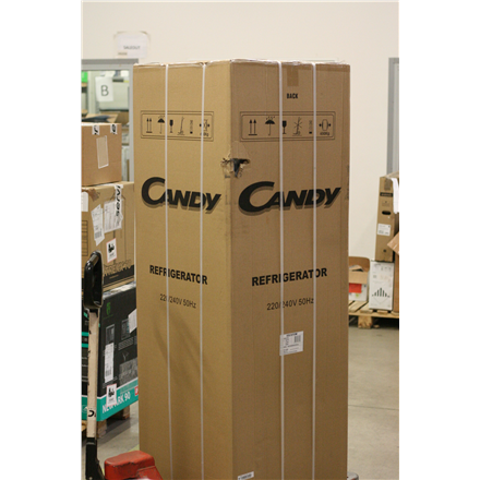SALE OUT. Candy CCS 5172W Refrigerator, A+, Free standing, Combi, Height 177 cm, Fridge net 200 L, Freezer net 62 L, White Candy DAMAGED PACKAGING, DAMAGED PAINT